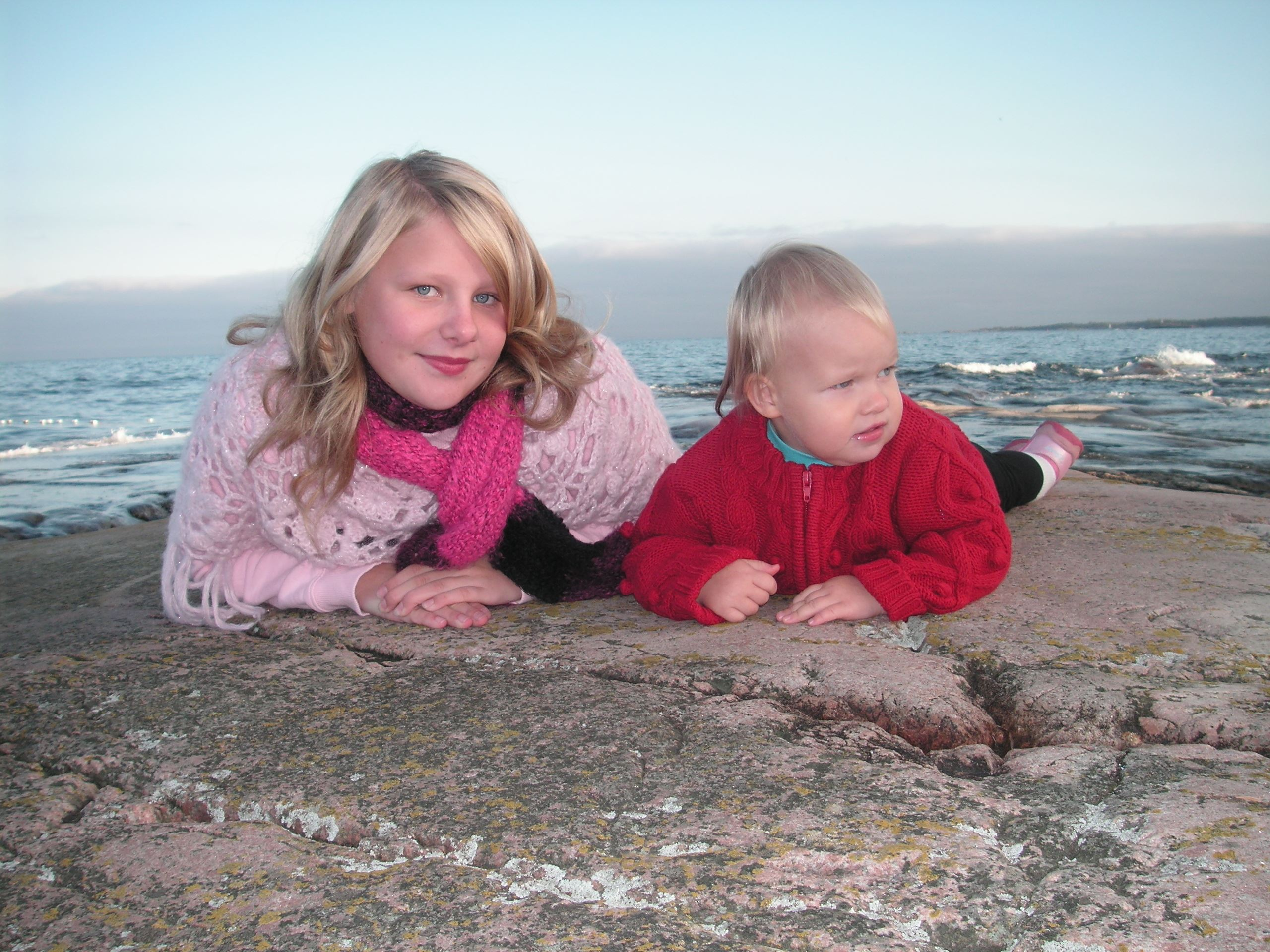 Familje weekend vid havet