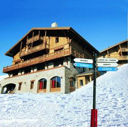"""Residence ski-in ski-out / LES CHALETS DU SOLEIL AUTHENTIQUES (3,5 Snowflakes """"Gold"""")"""