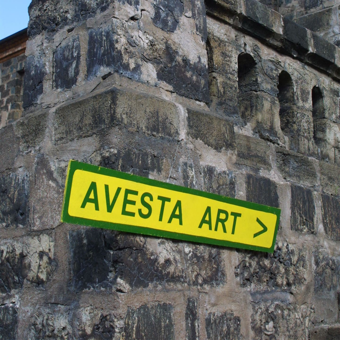 Guidad tur på Avesta Art 2013