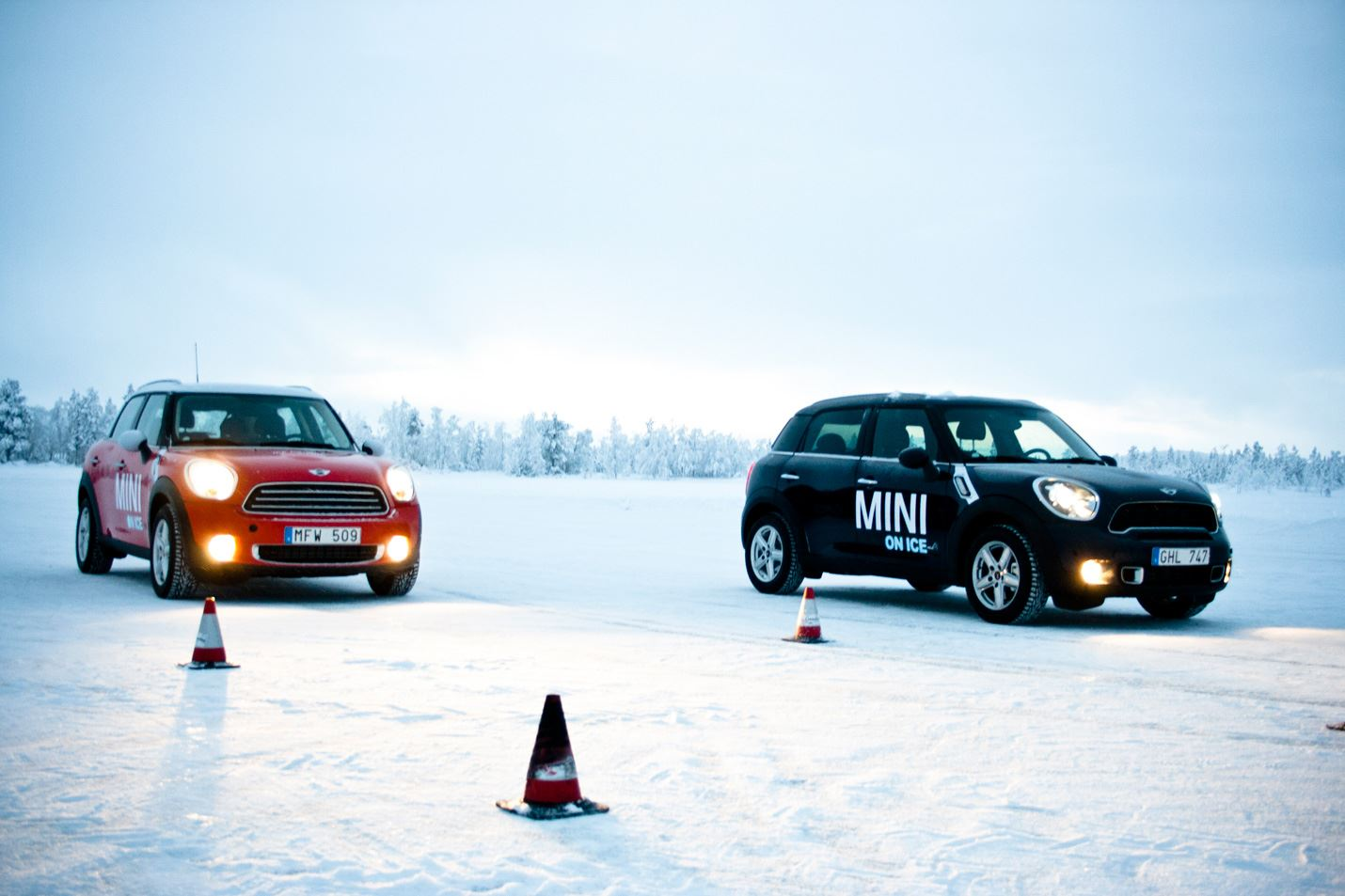Martin Smedsén, Driving adventures: Ice driving