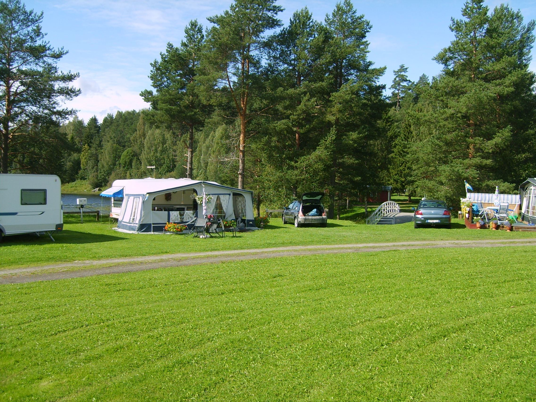Stöde Camping caravan- and tentpitch