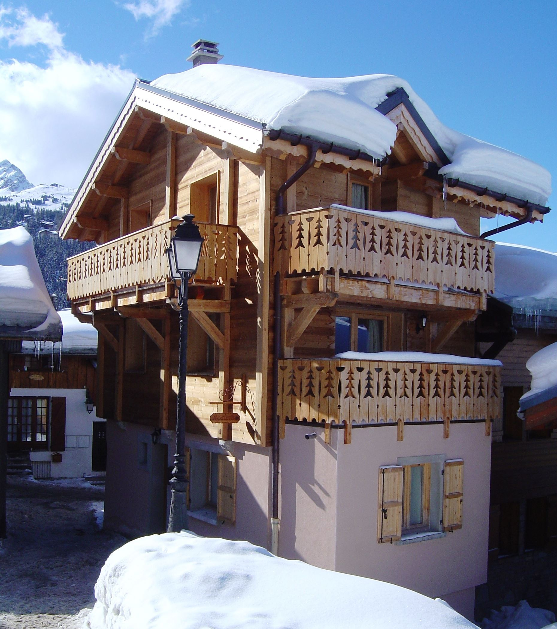 CHALET ROSIERE : Chalet for 8 people