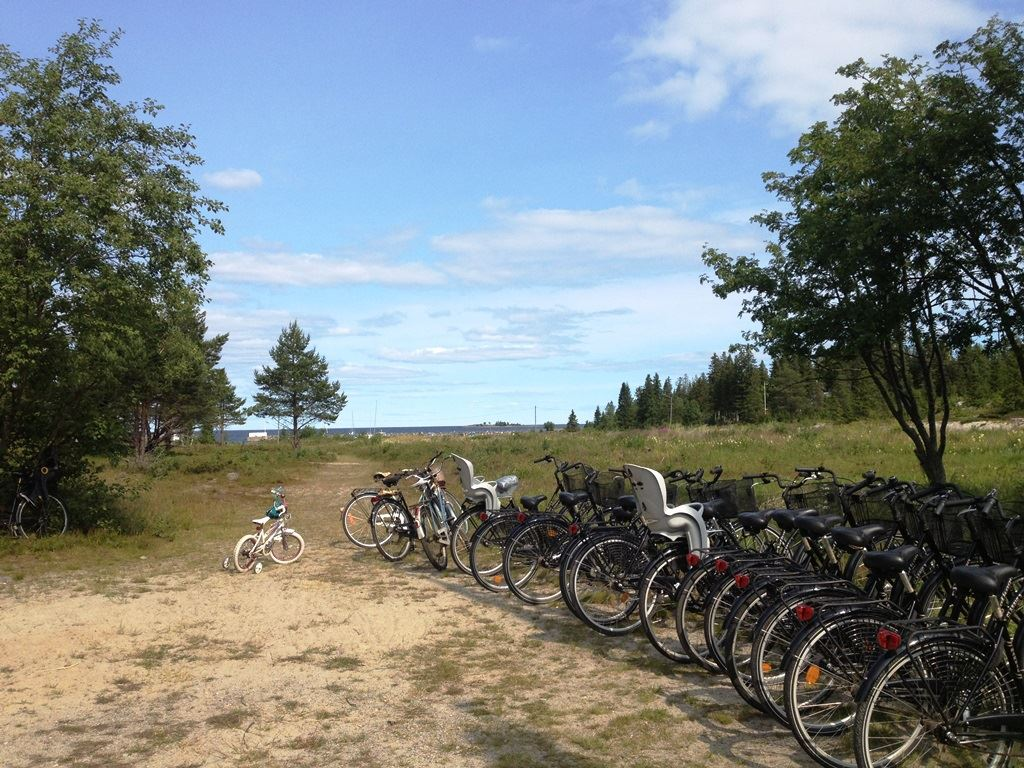 Bicycle rental Holmö Havsbad