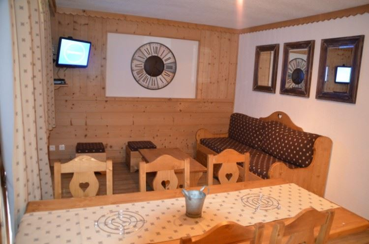 3 Rooms 6/8 Pers ski-in ski-out / BOSSON 201