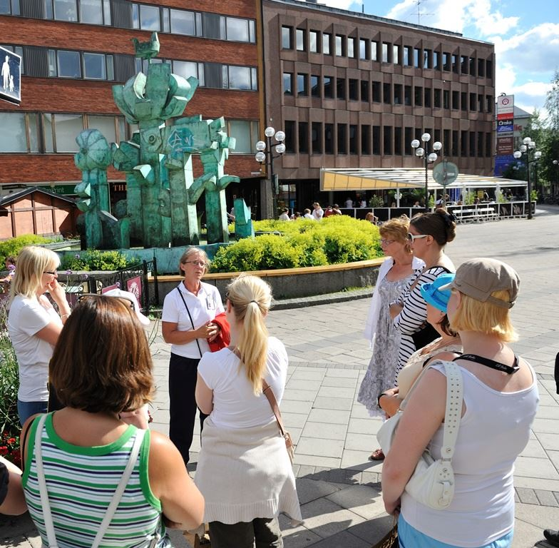 Guided tours in/around Umea