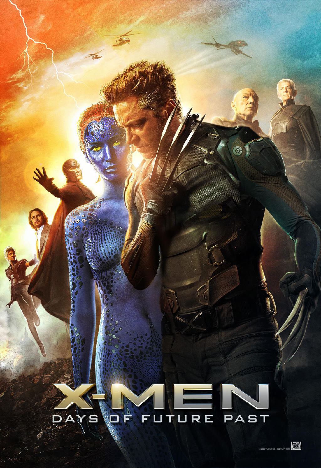 X-Men - Days of future past, Röda kvarn Edsbyn