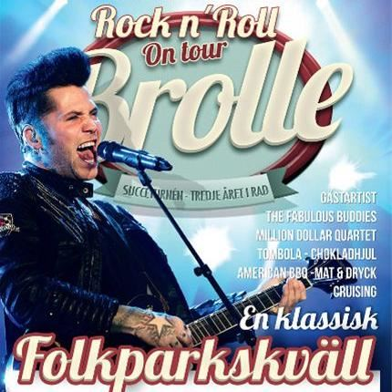 Brolle Rock'n Roll on Tour 2014