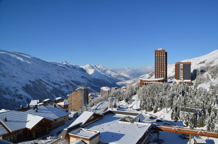 Studio 2 Pers skis aux pieds / CHAVIERE 735