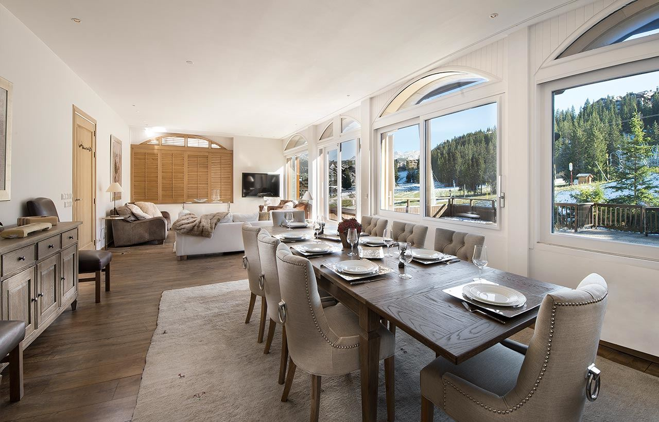 APARTMENT CHAMOIS 1 : Apartment for 10 persons