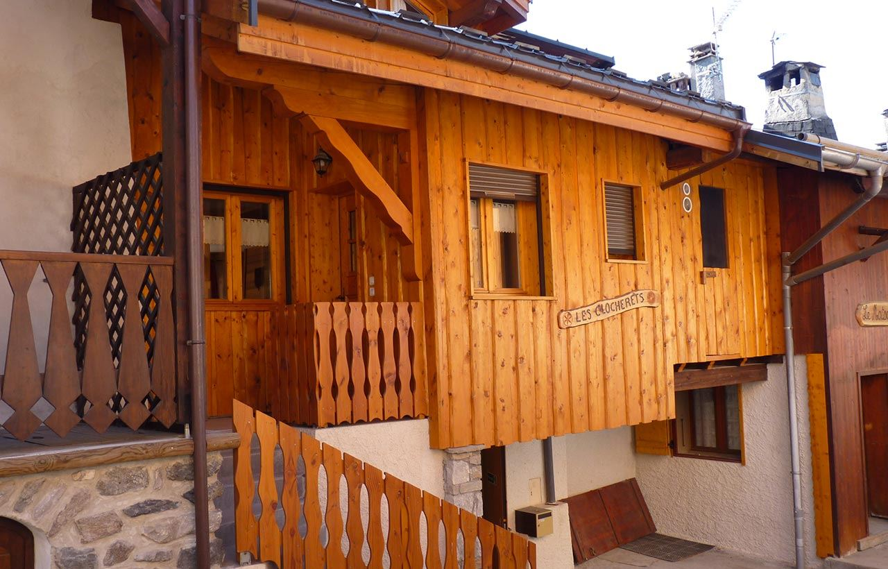 CHALETS LES CLOCHERETS: Chalet for 6 people