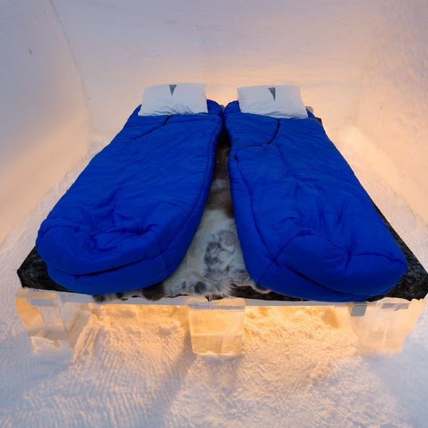 ICEHOTEL cold accommodation