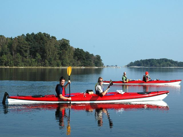 One-day paddle in Roslagens archipelgo