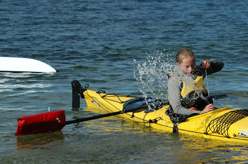 Seakayaking course with an extra touch
